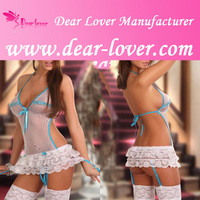 Hot sale popular design sexy woman sleepwear lingerie chemise
