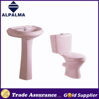 New Model Cheap Bathroom Toilet WC Close Coupled set