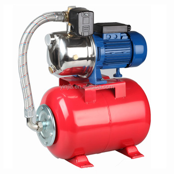 domestic water pump Self Priming with pressure Tank 24L 18L for pumping grass