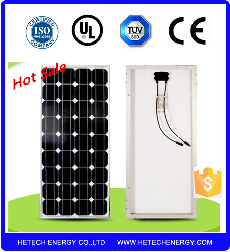 80w 12v mono crystal solar panel/ china best power monocrystalline silicon solar panel