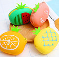 New design fruit style silicone coin bag purse bag wallet bag