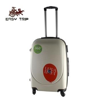Cute White Carry-on Trolley Luggage Travel Trolley Bag
