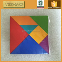 Wooden Toy Tangram Wooden Puzzle Toys