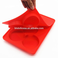 Amazon Hot Sale! Silicone Burger Press/Homemade Simple Burger press, Meat Press , Burger making machine