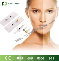 Facial Filler/ Long Duration Hyaluronic Acid Gel with needle
