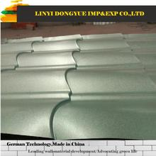 Famous brand donyue in shandong china cheap stone coated metal roof tile/ asphalt roofing shingle plastic roof tile
