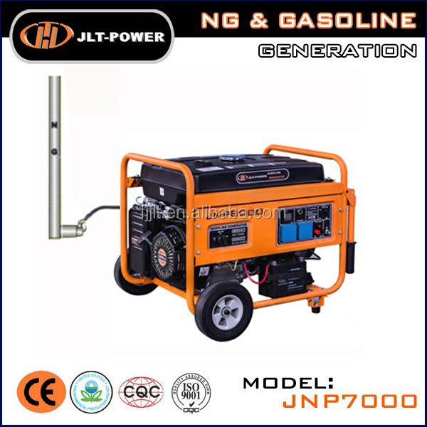 Electric Natural gas and gasoline Generator price