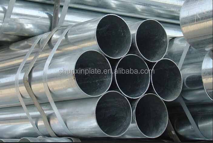 Carbon Steel Material and Round shape GI pipe