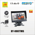 "7"" monitor and camera systems BY-08877MS"