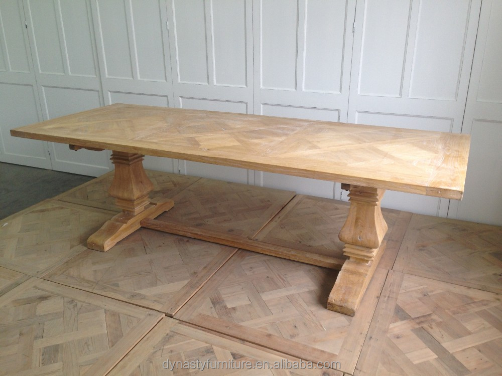 high quality reclaimed timber furniture vintage wooden dining table