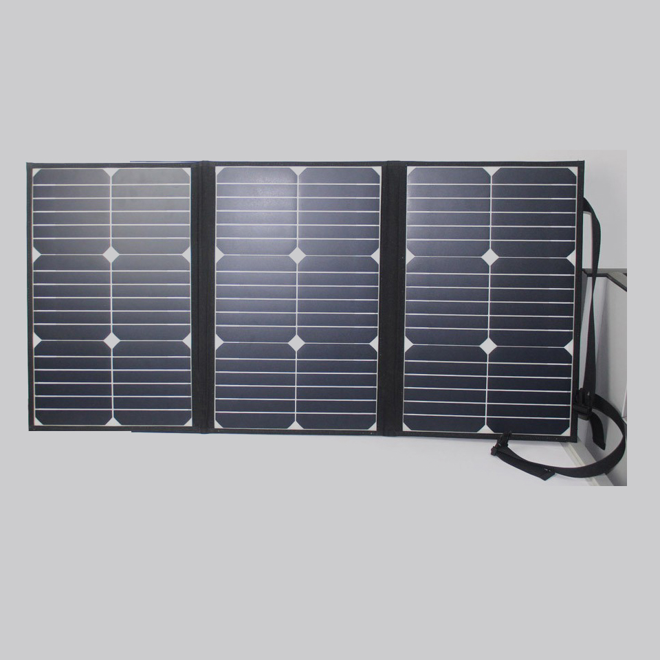 2018 New project 60W low price mini photovoltaic folding solar panel