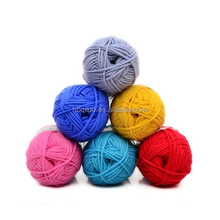 100% Fancy Wool Factory Hot Sell Hand Knitting 50% Wool 50% Acrylic Or Cotton Paper Cone Alpaca Yarn