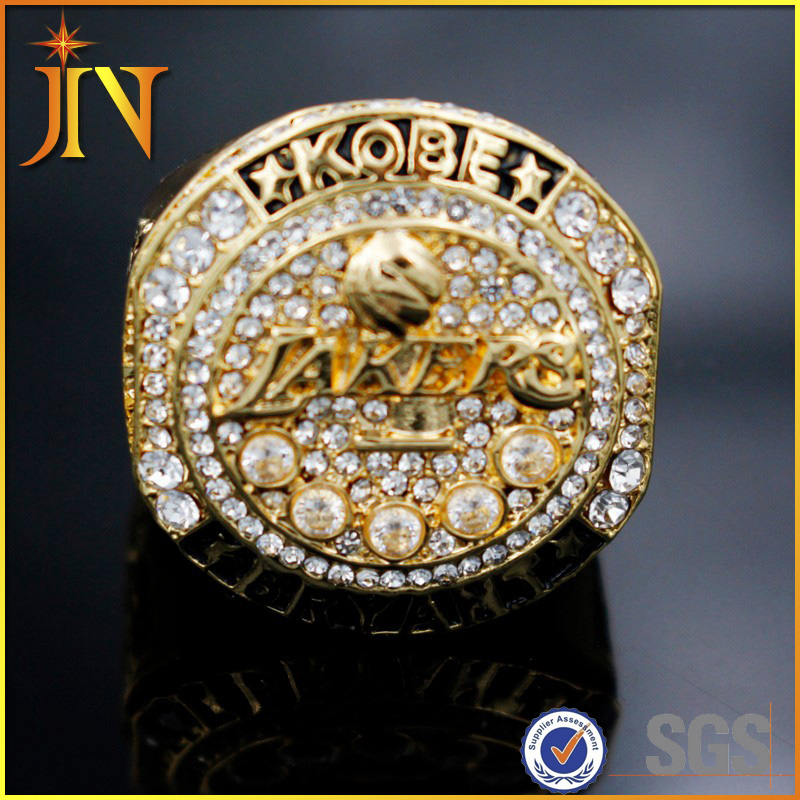 CR0006 JN Jewelry Wholesale basketball 2016 Present Kobe Bryant with Retirement replica championship Ring