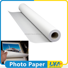 China factory direct selling 180g/220g/260g pigment inkjet high glossy photo paper