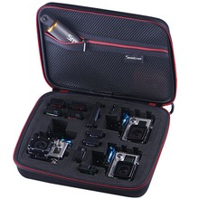 Smatree G260s eva hard camera case with 2 and 3 camera spaces