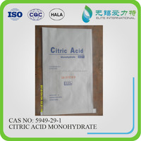 citric acid molecular formula