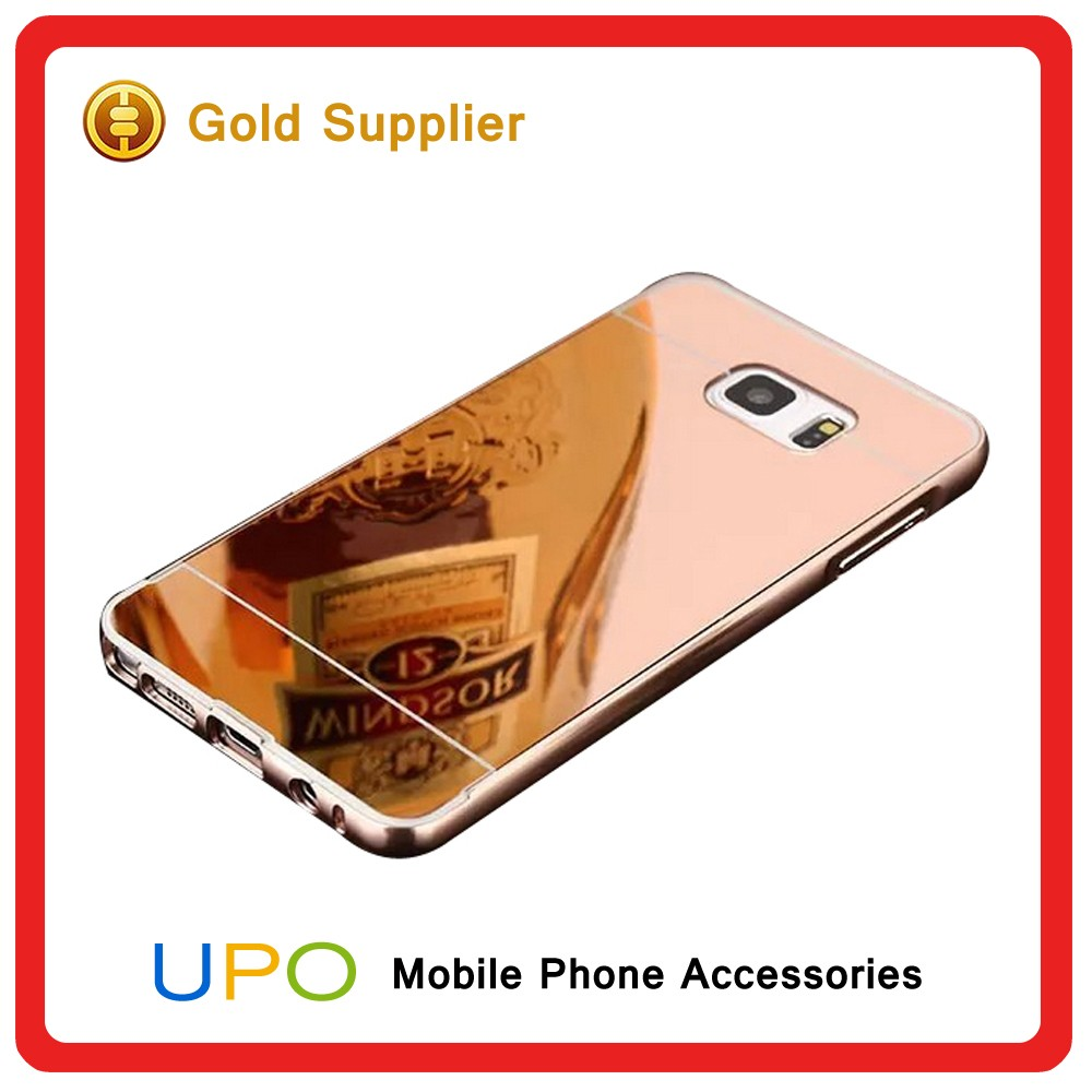 [UPO] Luxury Aluminum Mirror Metal Mobile Phone Case Cover for Samsung Galaxy Note 3 mini