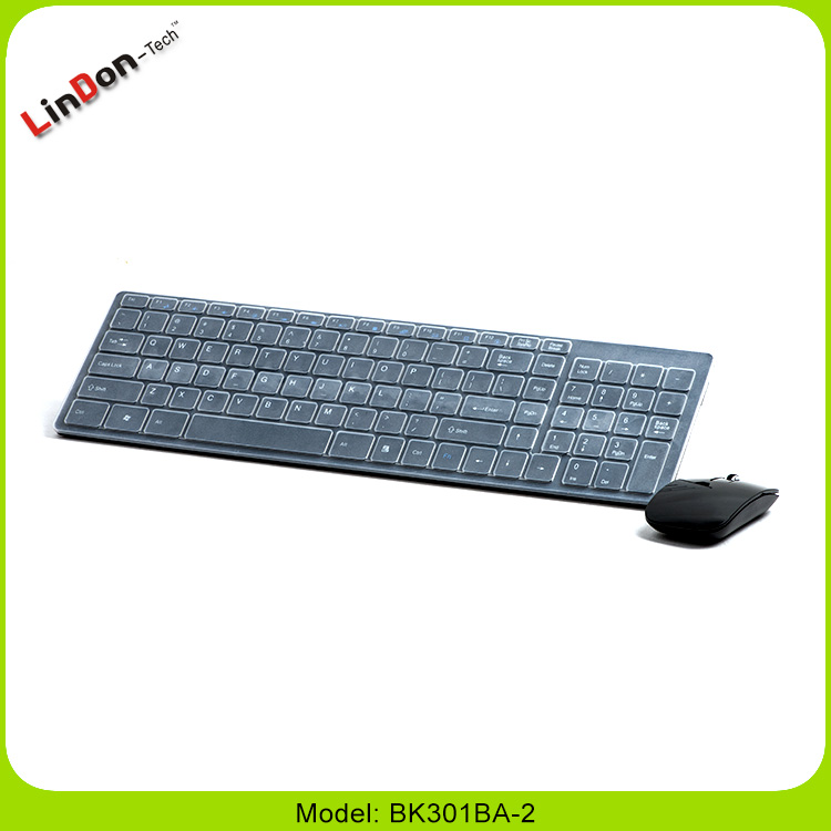 Best Selling 2.4G USB Wireless Keyboard and Mouse Combo For Computer All-in-One PC BK301BA-2