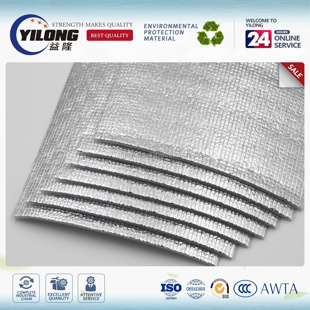 Best price heat insulation double-sided reflective aluminum foil insulation foam board film