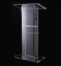High-level cheap price personality acrylic pulpit for wholesale