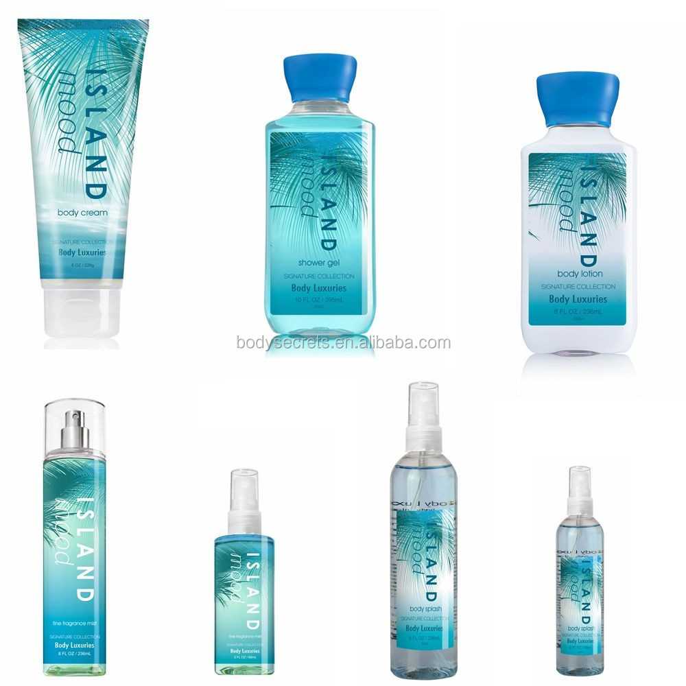 Wholesale branded perfumes and fragrances flavor body mist