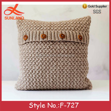 F-727 new wholesale chivari chairs with hand knit cushions