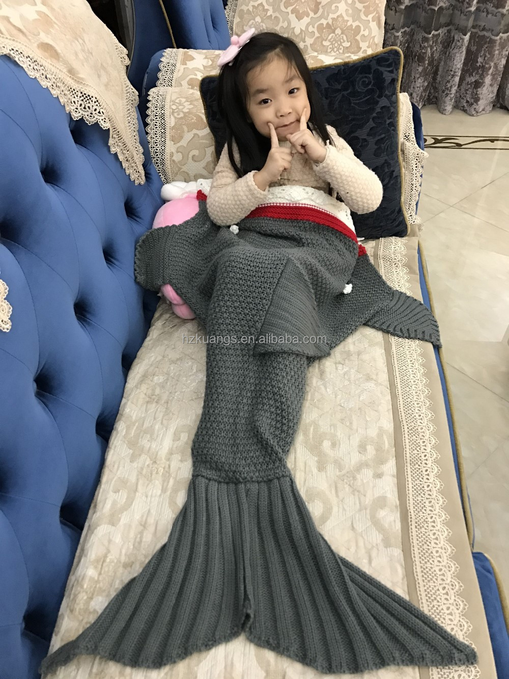 custom dragon tail/penguin tail/shark/Mermaid tail blanket or Sleeping Bag for <strong>baby</strong>/kids/adult
