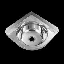 top sell in alibaba Stainless steel cheap price commercial Hand Wash Basin with Triangular Shape