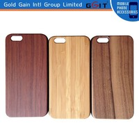 Handmade Natural Wooden Bamboo Case for iPhone 6 Wooden Case