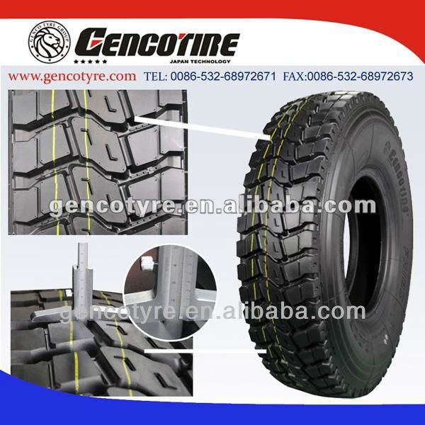 GENCOTIRE 1200R20 heavy duty truck tyres