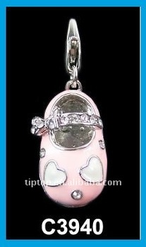baby shoes charm