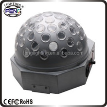 Stage Effect Led Crystal Magic Disco Ball, USB led magical disco ball light 12V