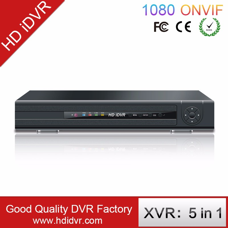 CCTV 8ch H.264 TVI DVR Supporting 2ch audio in/out TVI/AHD/CVBS/IPC/CVI 5 in 1 hybrid dvr
