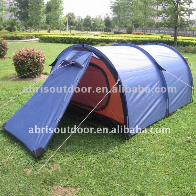 Foldable luxury huge family outdoor camping tent for 4 person