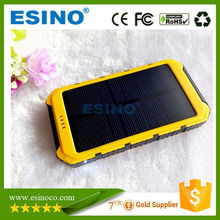 2016 RoHS Solar Cell Phone Charger / Universal Solar Power Bank for Laptop
