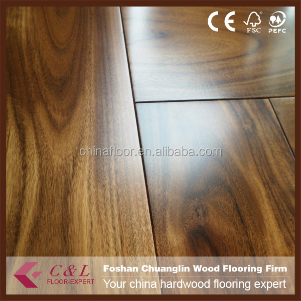 Acacia Wood Stair Treads/Finger Jointed Wood Stair Tread