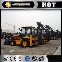 xcmg cheap tractor with front end loader and backhoe xt873