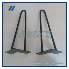 Factory Cheap New Fashion Style Carbon Steel copper hairpin legs
