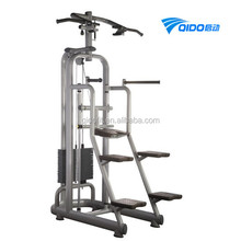 Commercial Fitness Equipment Sport Assisted Chin Up Dip Station Machine