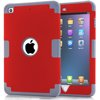 For Apple iPad Mini 3 Case Cover For iPad Mini 3 Kickstand Case TPU+PC Tire Pattern Hybrid Case For iPad Mini 3