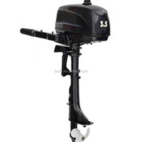 Marine 2 Stroke 3.5 Hp Outboard Engine For Fishing Boat
