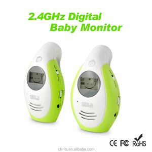 2.4G Two Way Communication LCD Digital Audio Baby Monitor, Wireless Phone