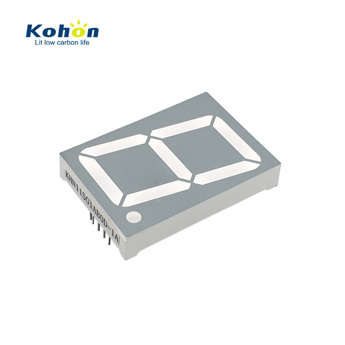 Free sample KH11501AB0D 1.5 inch 10 pins 1 digit large led display 7 segment