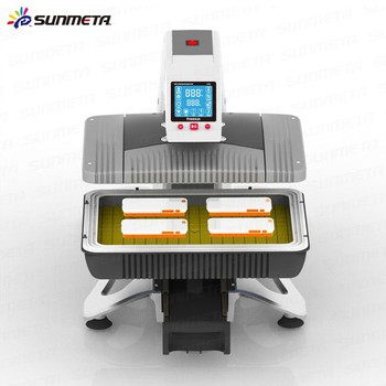 Sunmeta newest design factory directly all in one Auto-Pneumatic 3D Sublimation machine(ST-420)