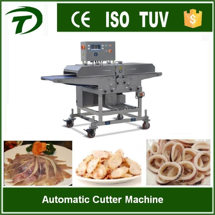 Automatic frozen meat cutter