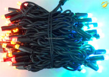 ULrubble cable high quality IP65 string light customized outdoor christmas garland lighting