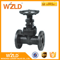WZLD High Pressure Manual Slide Forged Steel Flanged Gate Valve With Various Specifications