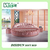 New style hot sale bedroom round bed in india on sale DS-801