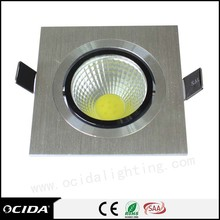 CE Certificate high luminous gymnasium lighting cob led downlight dali