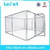 Factory direct sale 10x10x6 foot large iron fence dog kennel